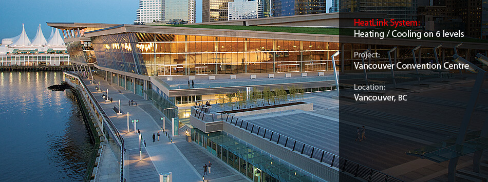 Vancouver Convention Centre banner