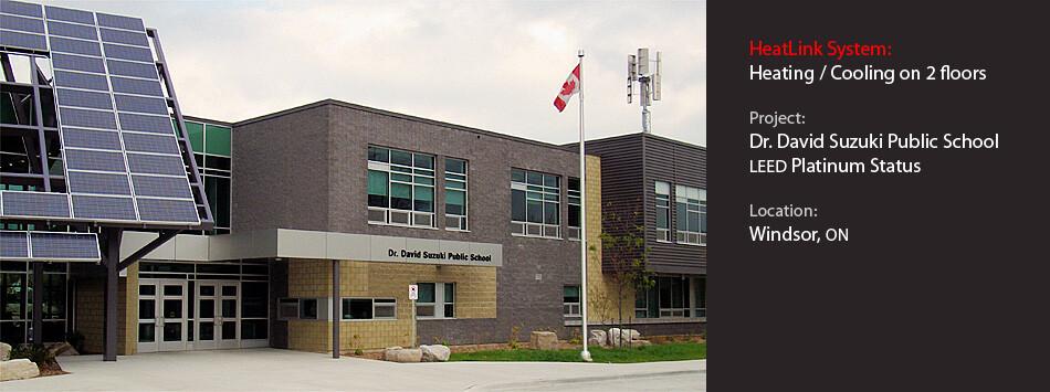 Dr. David Suzuki Public School banner.
