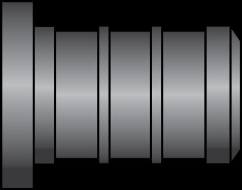 """Graphic of 1/2"""" PEX HPP Plug"""