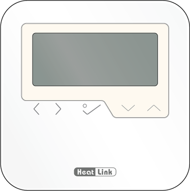 Graphic of HeatLink® Wired Digital Timer Thermostat