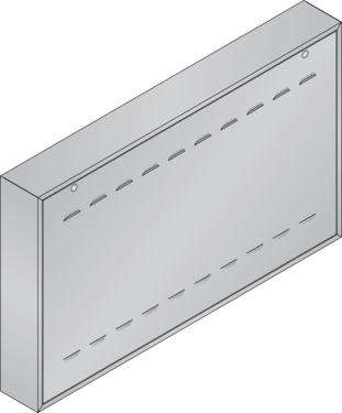 Graphic of surface mount housing