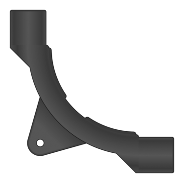 Graphic of Plastic Bend Support