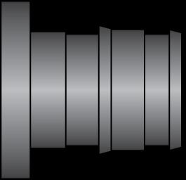 "Graphic of 1/2"" PEX F1960 HPP Plug"