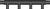 """Graphic Image of 4 Port, 3/4"""" PEX x 3/4"""" PEX Flow Through HPP Mini Multiport Tee"""