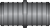 "Graphic of 1"" × 1"" PEX HPP Coupling"