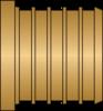 "Graphic of 1-1/4"" PEX No Lead Brass Plug"
