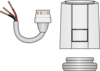 Graphic of HeatLink® DDC Actuator for Manifolds and Valves