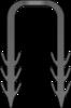 Graphic of Track Staple
