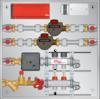 Graphic of Meter Panel 2 Loop for BTU, HW, CW Meters
