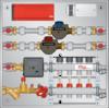 Graphic of Meter Panel 4 Loop for BTU, HW, CW Meters