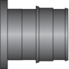 "Graphic of 1"" PEX F1960 HPP Plug"