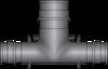 "Graphic of 1/2"" × 1/2"" × 3/4"" PEX F1960 HPP Tee"