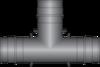 "Graphic of 1"" × 1"" × 1"" PEX F1960 HPP Tee"