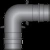 "Graphic of 3/4"" × 3/4"" PEX F1960 HPP Elbow"