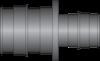 "Graphic of 2"" × 1-1/2"" PEX F1960 HPP Coupling"