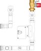 Graphic of auto isolation zone valve