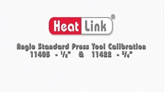 Embedded thumbnail for HeatLink 11400 Series Angle Standard Press Tool Calibration