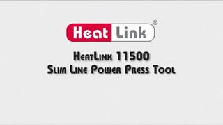 Embedded thumbnail for 11500 Slim Line Power Press Tool Overview