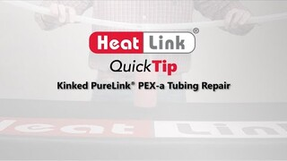Embedded thumbnail for Kinked PEX-a Tubing Repair